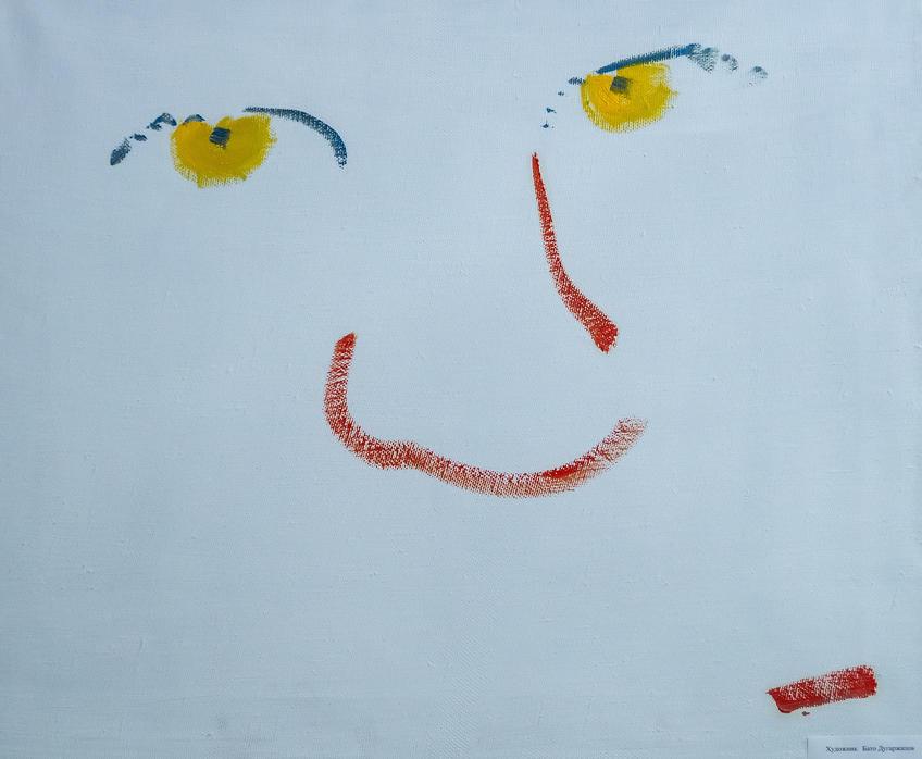 Желтый взгляд. Бато Дугаржапов::Выставка «АРТ Интерьер»