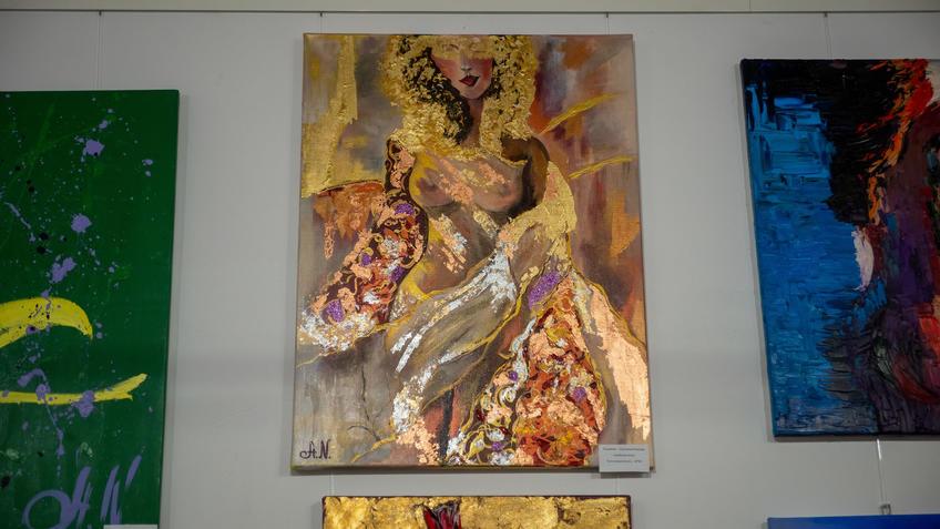 Арабская ночь. Анастасия Колесова::Выставка «АРТ Интерьер»