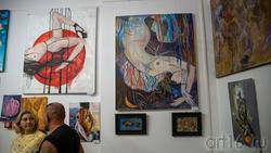 Фрагмент экспозиции выставки «АРТ ИНТЕРЬЕР»