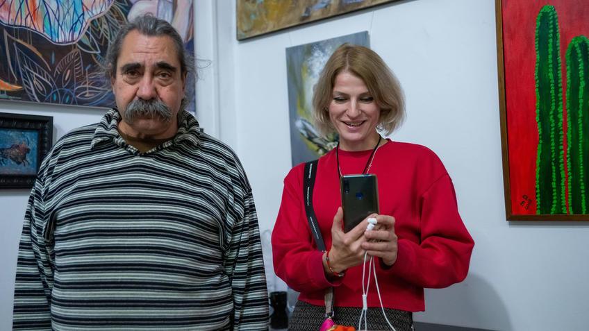 Виктор Тимофеев, Вилена::Выставка «АРТ Интерьер»