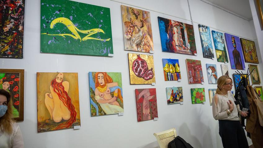 Экспозиция выставки «АРТ ИНТЕРЬЕР»::Выставка «АРТ Интерьер»