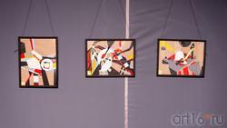 Фрагмент экспозиции «Скромное обаяние материализма». Владимир Муртазин