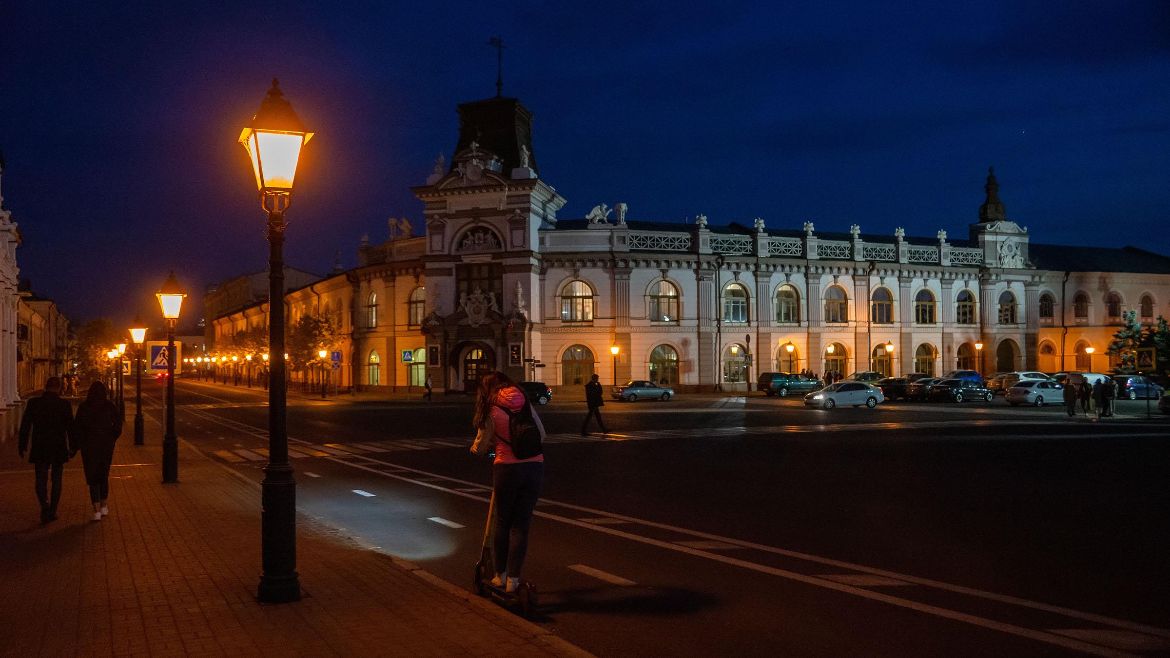 Национальный музей РТ, октябрь 2020, Казань::Казань, Кремль, вечерняя прогулка