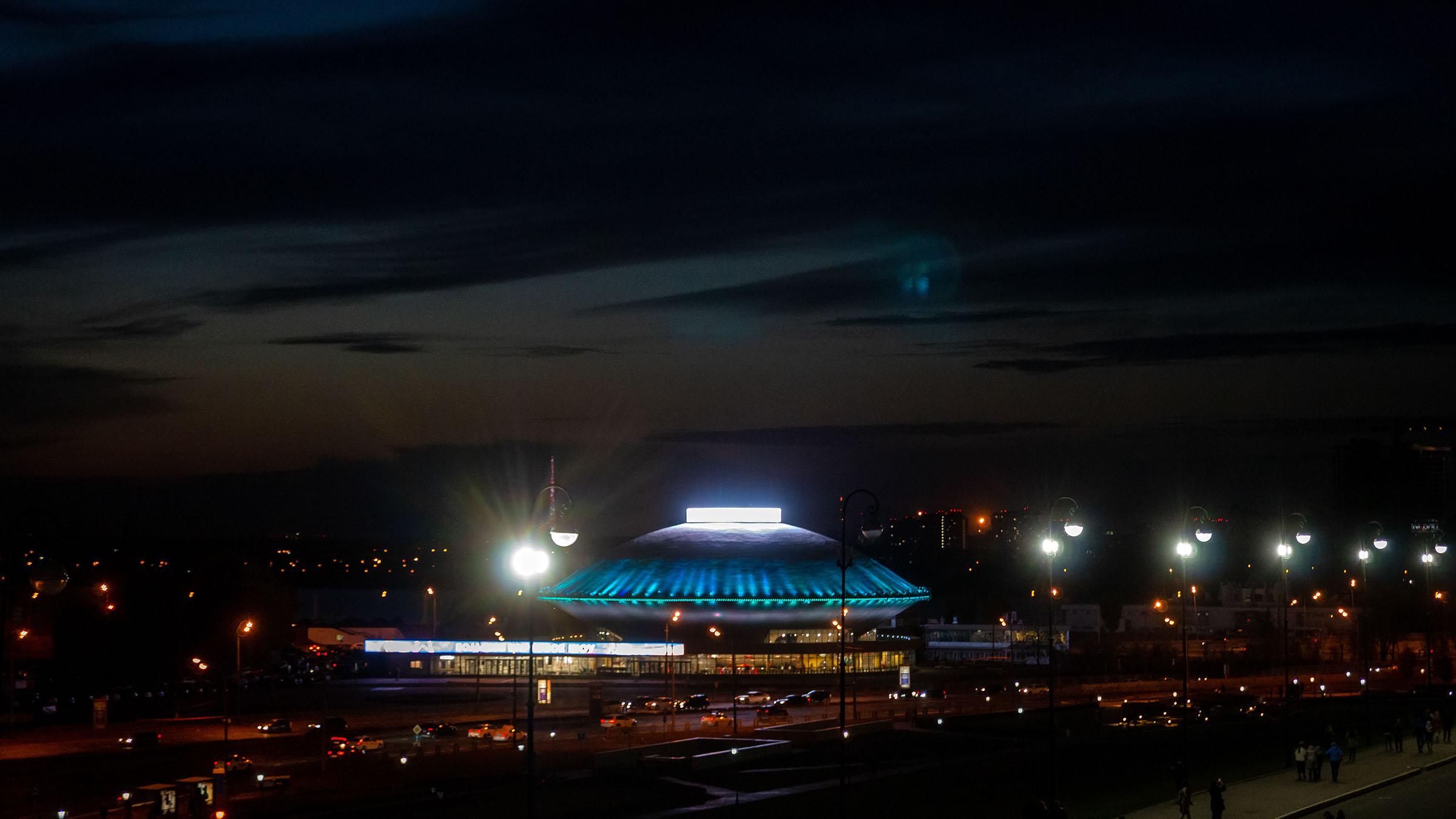 Цирк. Казань, вечер, октябрь 2020::Казань, Кремль, вечерняя прогулка