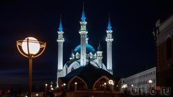 Мечеть Кул-Шариф, Казанский Кремль, Казань, октябрь 2020, вечер