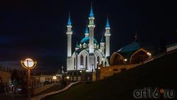 Мечеть Кул-Шариф, Казанский Кремль, Казань, октябрь 2020, ночь
