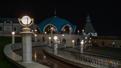 Здание пожарной части в Казанском Кремле, Казань, октябрь 2020, вечер