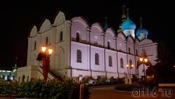 Благовещенский собор. Казанский Кремль, Казань, октябрь 2020, вечер
