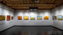 Фрагмент экспозиции выставки «Осенняя симфония». А.Ф.Иншаков