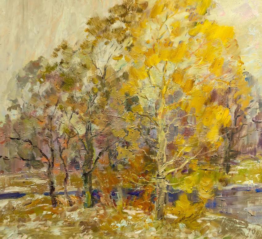 Октябрь в Кырлае. Иншаков А.Ф.::Иншаков А.Ф. «Осенняя симфония»