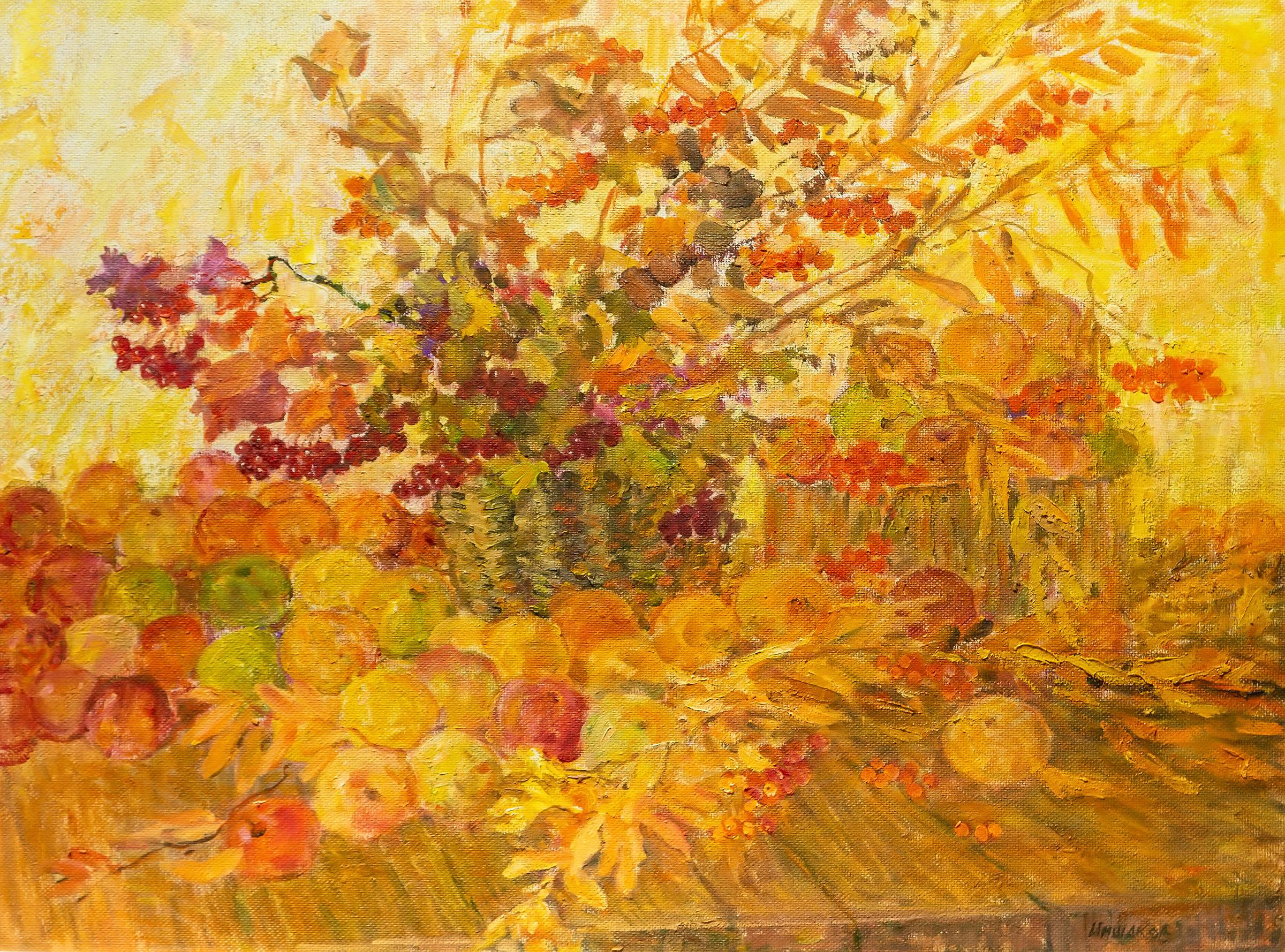 Яблочный спасс. Иншаков А.Ф.::Иншаков А.Ф. «Осенняя симфония»