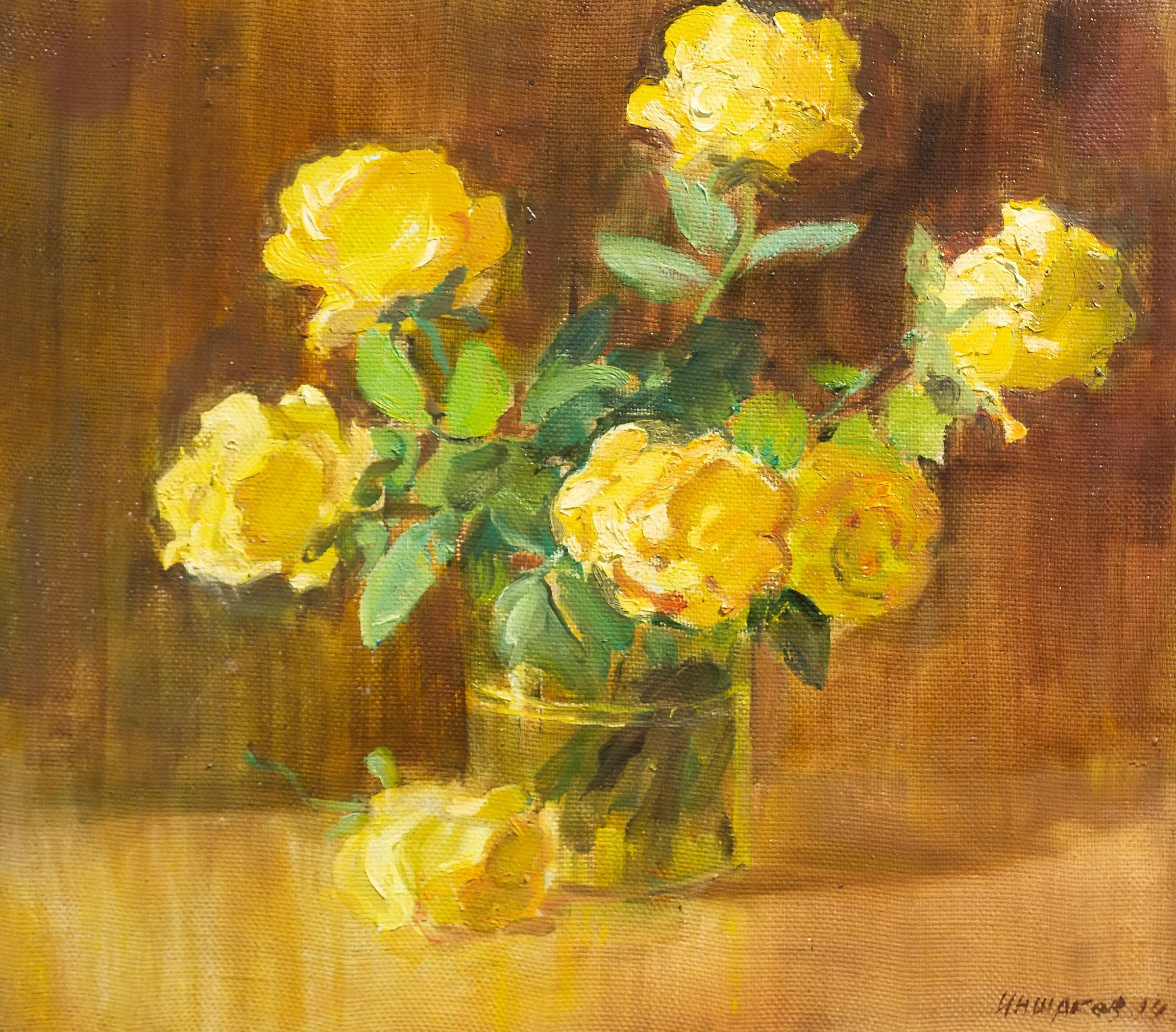 Чайные розы. Иншаков А.Ф.::Иншаков А.Ф. «Осенняя симфония»