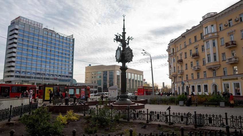 ::Казань, Булак, Чернышевского, Джалиля, Баумана, Кремлевская, Кремль