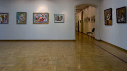 Фрагмент экспозиции выставки «Искусство чувашского народа»
