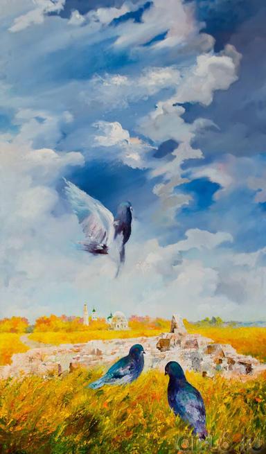 Голуби. 2011. Киргизин В.Н., 1949::Искусство чувашского народа