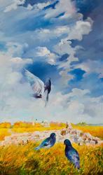 Голуби. 2011. Киргизин В.Н., 1949