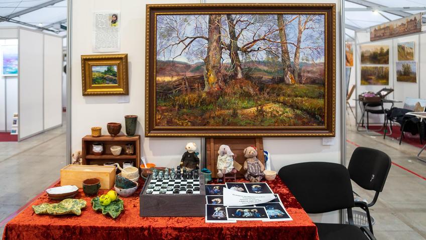 Лана Медвецкая на АРТ-галерее 2020, Казань::Арт-галерея, октябрь 2020