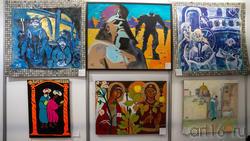 Фрагмент экспозиции. Евграфовой Л.Е. АРТ-галерея Казань 2020