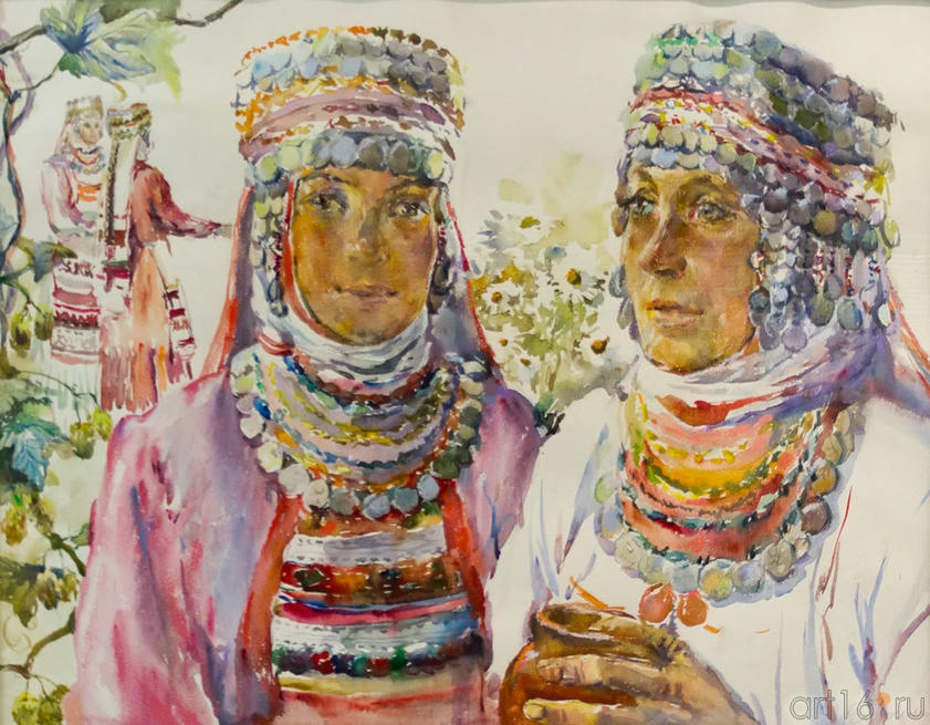 Праздник. 2000. Бердникова Т.М., 1958::Искусство чувашского народа