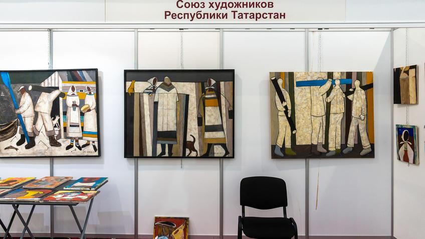 Альберт Шах. Фрагмент экспозиции. АРТ-галерея, Казань 2020::Арт-галерея, октябрь 2020
