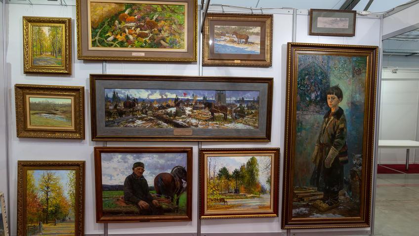 Рустем Хузин. АРТ - Галерея, Казань 2020::Арт-галерея, октябрь 2020