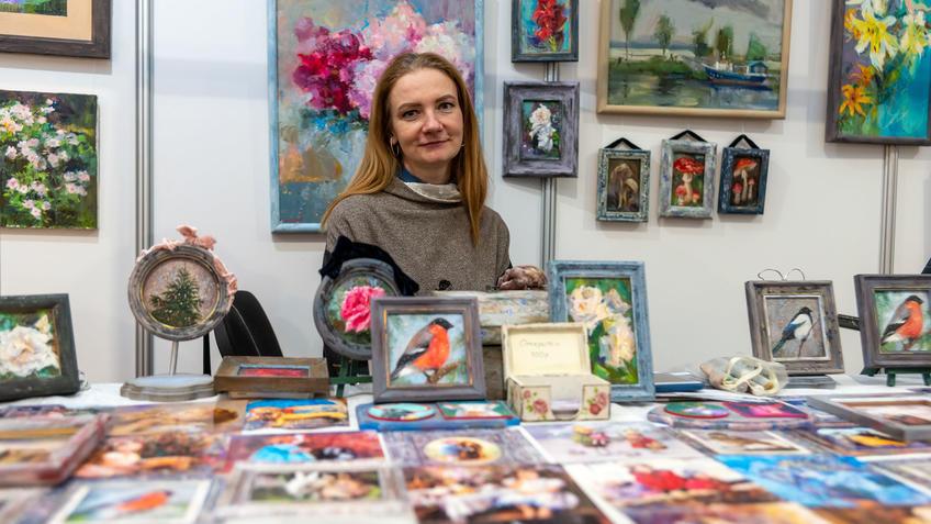 Наталья Григорьева, АРТ-Галерея, Казань 2020::Арт-галерея, октябрь 2020
