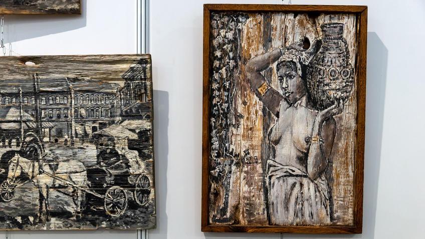 Осипов В.А. на АРТ - Галерее, Казань 2020::Арт-галерея, октябрь 2020