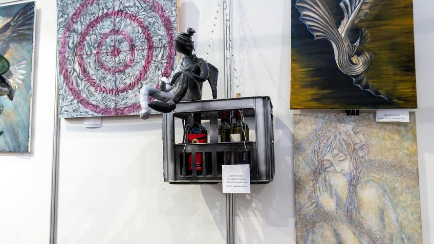 Алла Суркова, АРТ - Галерея, Казань 2020::Арт-галерея, октябрь 2020