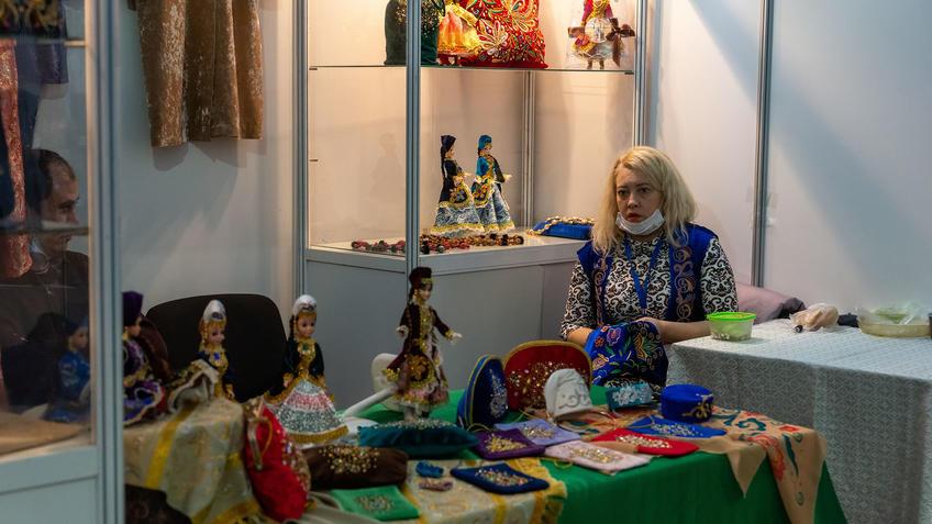 Юсупова Анастасия на АРТ - Галерее, Казань 2020::Арт-галерея, октябрь 2020