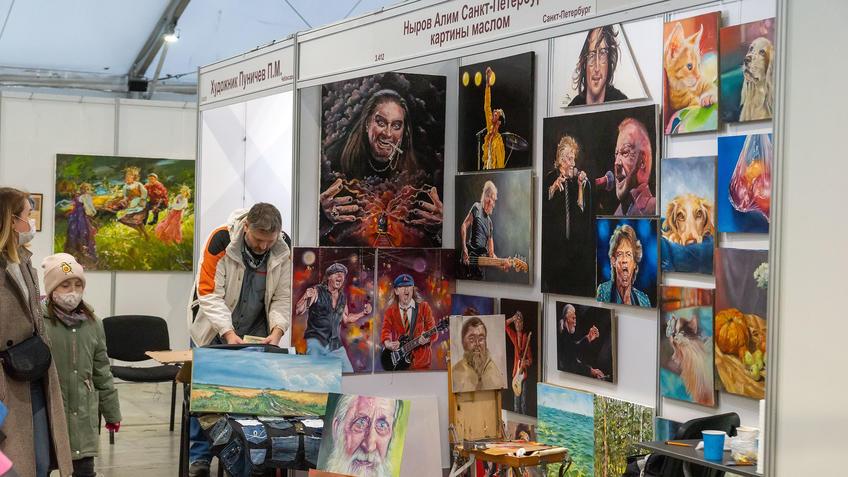 Ныров Алим, Санкт-Петербургна АРТ - Галерее, Казань 2020::Арт-галерея, октябрь 2020