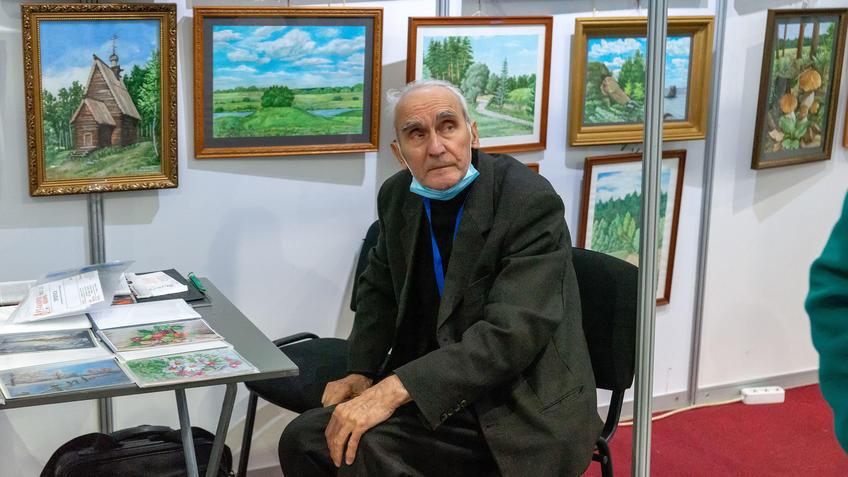 Рябченко Юрий Спиридонович на АРТ - Галерее, Казань 2020::Арт-галерея, октябрь 2020