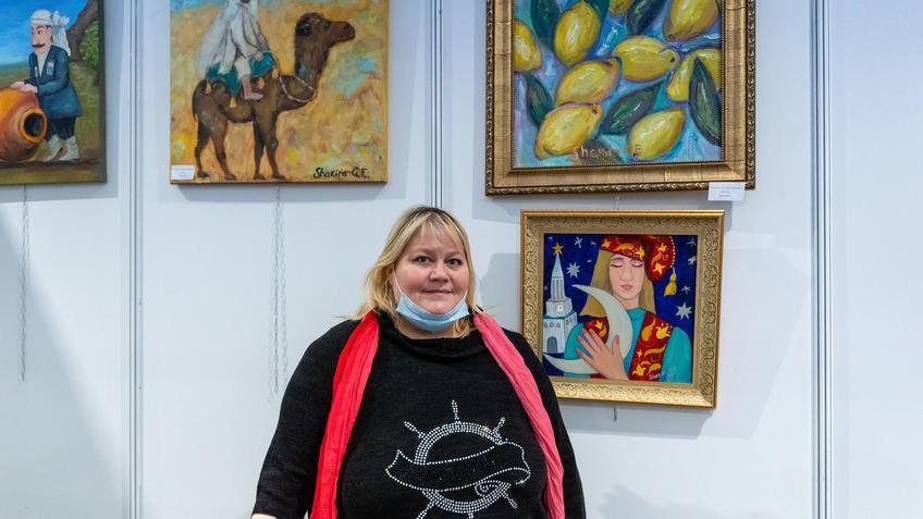 Гульнара Шакирова. АРТ - Галерея, Казань 2020::Арт-галерея, октябрь 2020