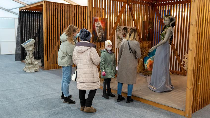 Инсталляции на АРТ-Галерее, Казань 2020::Арт-галерея, октябрь 2020