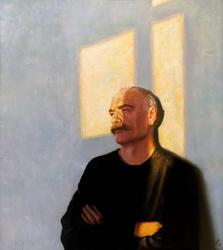 Автопортрет. 2011. Федосеев А.М. 1958. Заслуженный художник Чувашии