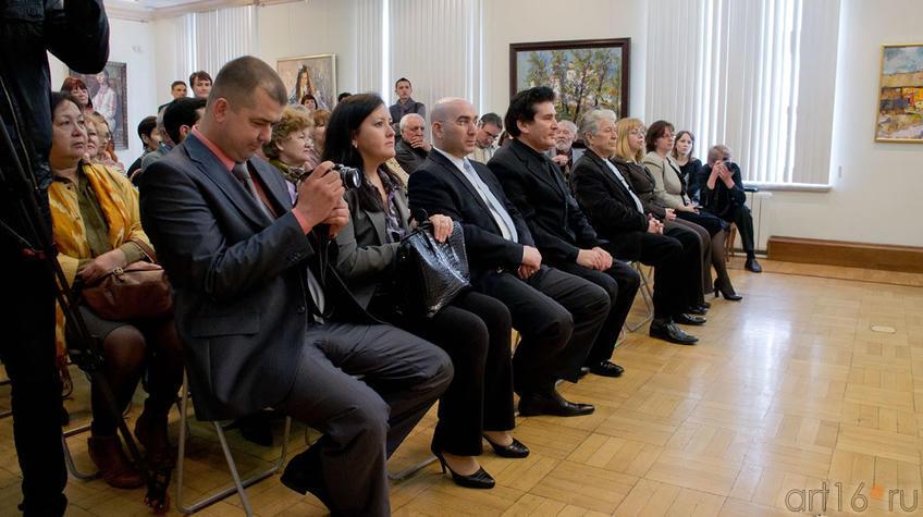 Открытие выставки ʺИскусство чувашского народаʺ::Искусство чувашского народа