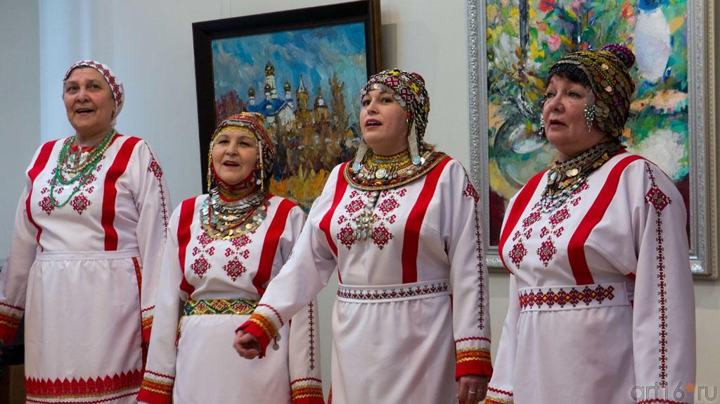 Чувашский фольклорный ансамбль::Искусство чувашского народа