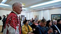 Открытие выставки ''Искусство чувашского народа'', 3 мая 2012г, Казань, ''Хазинэ''