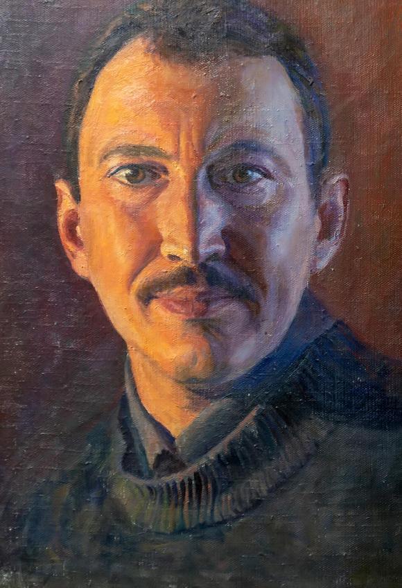 Автопортрет. Тахир Ильясов::Тахир Ильясов. Выставка «Родник моей души»