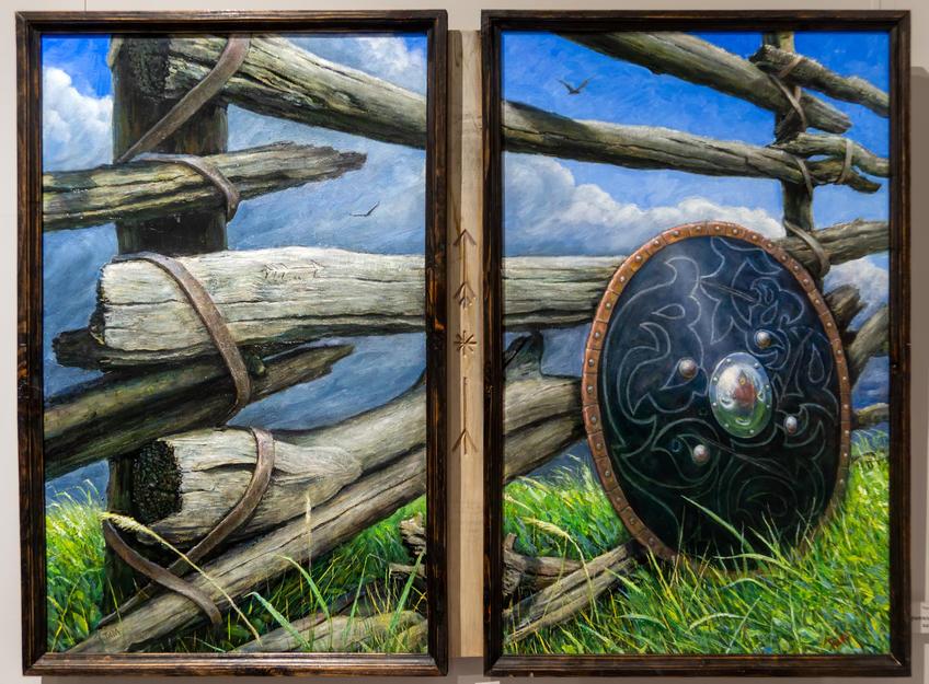 Граница Казанского ханства. Тахир Ильясов::Тахир Ильясов. Выставка «Родник моей души»