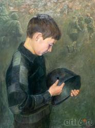 Портрет сына. Тахир Ильясов