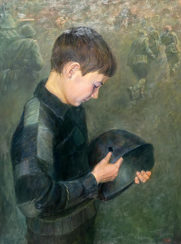 Портрет сына. Тахир Ильясов::Тахир Ильясов. Выставка «Родник моей души»
