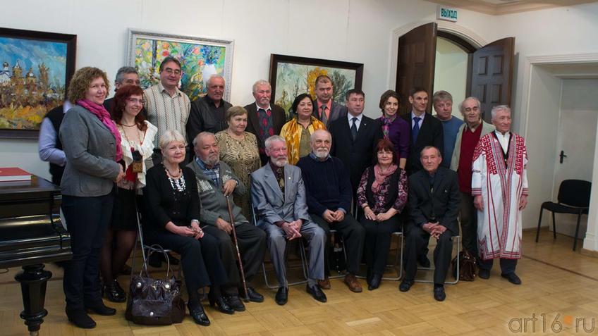 На выставке ʺИскусство чувашского народаʺ, май 2012, ʺХазинэʺ::Искусство чувашского народа