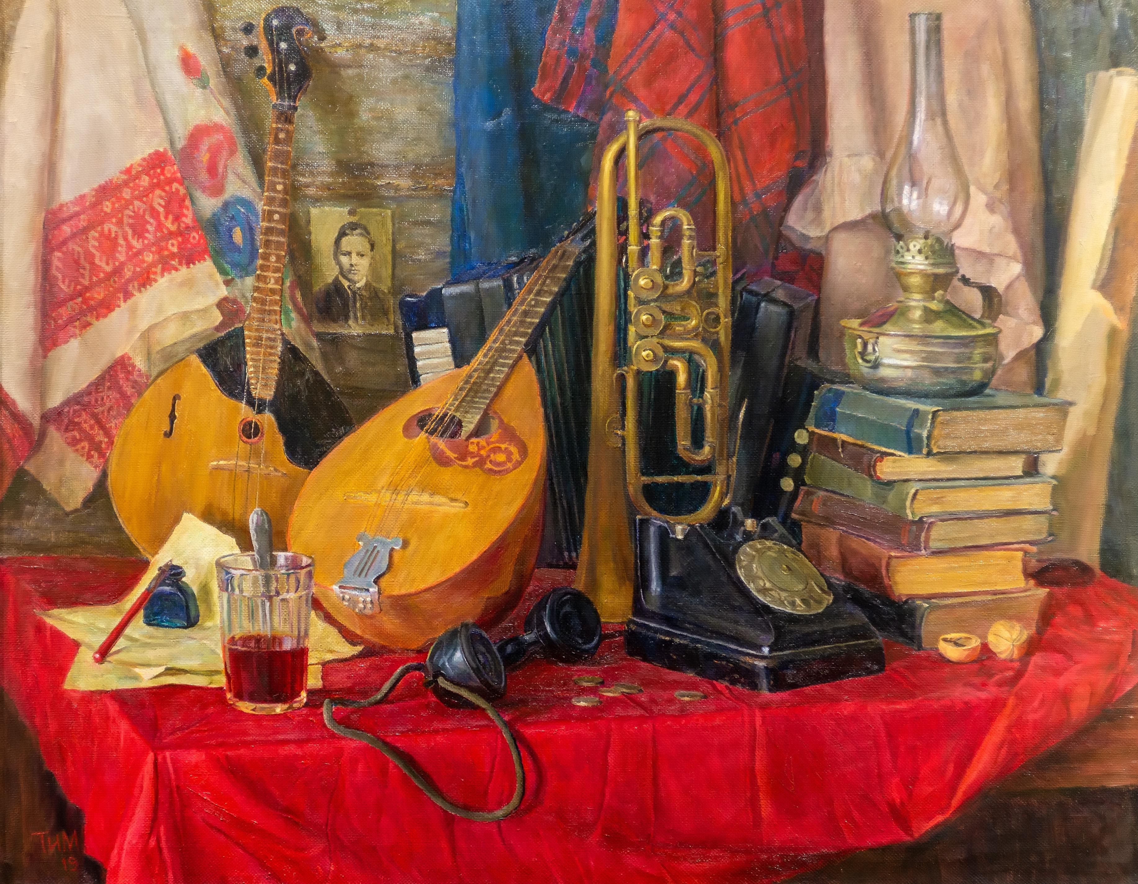 Советский Красный уголок. Тахир Ильясов::Тахир Ильясов. Выставка «Родник моей души»
