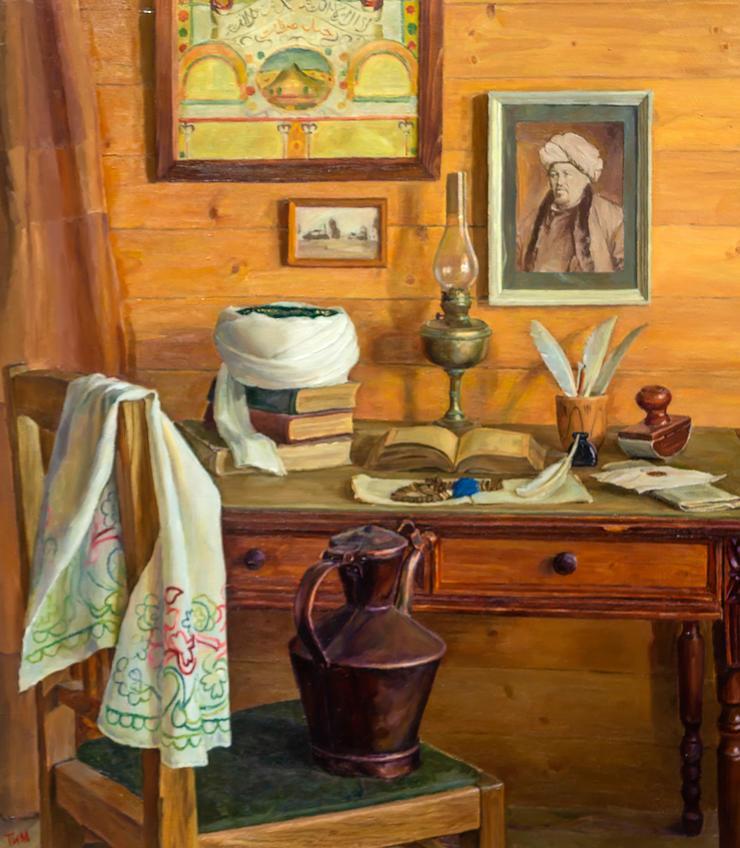 Имам. Тахир Ильясов::Тахир Ильясов. Выставка «Родник моей души»