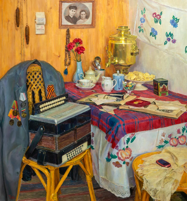День Победы. Тахир Ильясов::Тахир Ильясов. Выставка «Родник моей души»