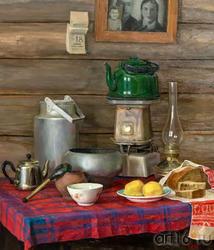 Натюрморт с картошкой. Тахир Ильясов