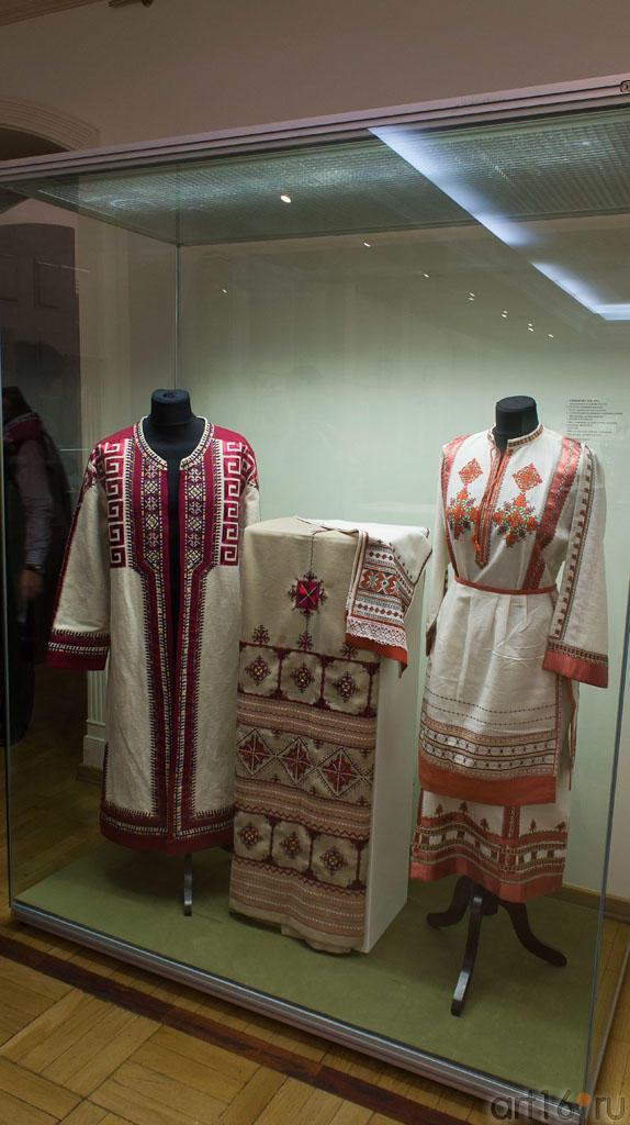 Чувашский костюм.  Симакова М.В. 1934::Искусство чувашского народа