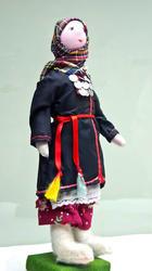 Кукла авторская в чувашском костюме. Шаркова Т.В., 1954