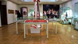 Фрагмент экспозиции выставки ''Искусство чувашского народа''