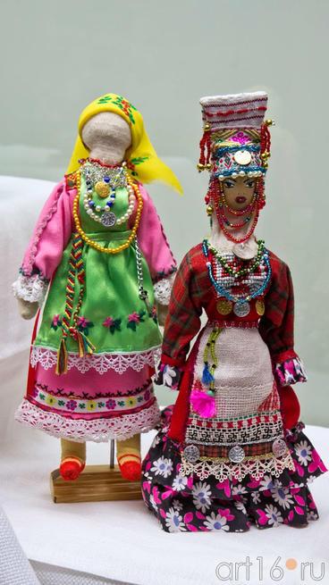 Куклы авторские в чувашском костюме. Шаркова Т.В., 1954::Искусство чувашского народа
